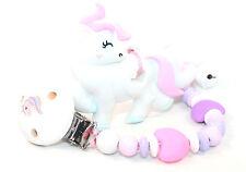 Beisskette Unicorn ohne Namen Silikon Zahnungshilfe Einhorn