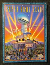 1993 NFL SUPER BOWL XXVII Football Program FN 6.0 Cowboys vs Bills