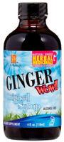 Original Ginger Wow! Syrup, L.A. Naturals, 4 oz