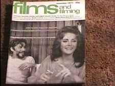 FILMS & FILMING MAGAZINE NOV 1971 FINE+ LIZ TAYLOR