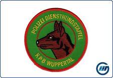 Abzeichen Polizei Nordrhein Westfalen NRW Diensthundstaffel KPB Wuppertal