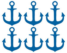 ANKER AUFKLEBER Deko Sticker Maritim Set Wandtattoo Bad Fliese Meer Anchor Möbel