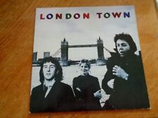 Wings – London Town lp ( with inlay ) lp