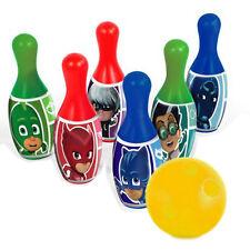 Pj Bowling Set 6 Pins 1 Ball Favor Birthday Gift Kids Boys Girls Toy 2+