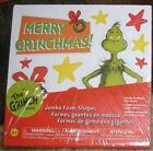 Dr. Seuss Grinch Jumbo Foam Adhesive Book of Shapes Christmas Colorbok New