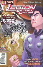 Legion: Secret Origin #1-6  (VF/NM 1st Prints) (Complete Series)