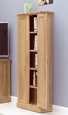 mobel solid oak home furniture cd dvd storage cabinet cupboard and felt pads