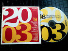 VARIOUS CD 2003 18 TRACKS FROM THE YEARS BEST ALBUMS FREE POST WITHIN AUSTRALIA