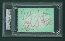 George Thorogood & The Destroyers signed card PSA/DNA