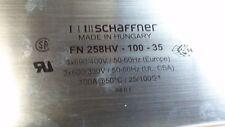 Schaffner FN 258HV-100-35 RFI Power Line Filter     7A