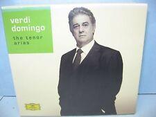 VERDI DOMINGO THE TENOR ARIAS 4 CD Set, Deutsche Grammophon, New