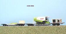ACME  45086 FS set 2 carri a pianale  Uai  con mietrebbia  (Wiking)  ep. V