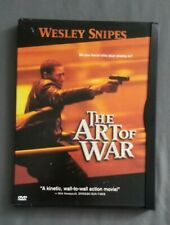 New listing The Art of War (Dvd, 2000, Wide) Wesley Snipes Donald Sutherland Pre-Owned Gift