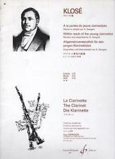 KLOSE - à la portée du jeune clarinettiste La Clarinette Cahier / book 3 Dangain