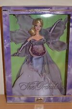 2001 edición limitada de flores en la moda Barbie de orquídeas