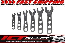 Aluminum 6 pc End Wrench Set 3 4 6 8 10 12 An Fitting Wrenches 465