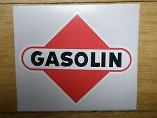 Tanksäule Tankzapfsäule Gasolin Aufkleber gaspumpdecal pompe essence 32 x 27 cm