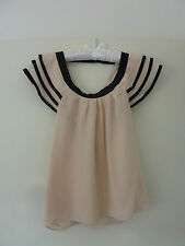 Alannah Hill - Dusty Pink Blouse - Size 6 - Pre-Owned, Great Condition