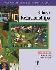 Close Relationships: Key Readings (Key Readings in Social Psychology)-ExLibrary