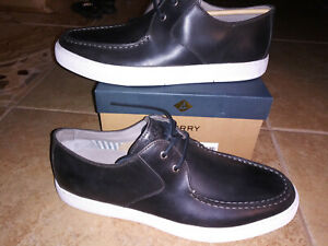 NEW $150 Mens Sperry Gold Captain's Oxford ASV Shoes, size 10