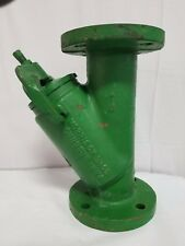 "Morrison Brothers 3"" 285FDI Line Strainer Ductile Iron w/20 Mesh, Flanged 50 PSI"