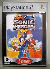 SONIC HEROES - PLAYSTATION 2 - PAL ESPAÑA - COMPLETO