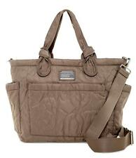 New with Tags- $298.00 Marc by Marc Jacobs Nylon Grey Eliza Baby Bag / Tote Bag