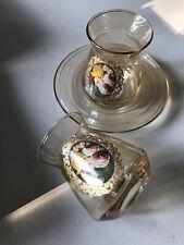 turkish tea glasses set 6 Tea Glasses and 6 Small Plates (Saucer) Pasabahce