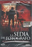 Dvd **LA SEDIA DEL FOTOGRAFO ♦ GLI OSCURI INIZI DI SHERLOCK HOLMES** nuovo 2001