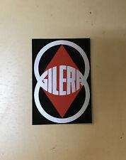 Adesivo stemma GILERA sticker moto motore d'epoca motorbike
