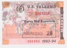 54230 Biglietto stadio - Palermo Brescia - 1993/1994