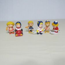 Vintage HYGRADE HOT DOG LOT 6 PVC Promotional Advertising FIGURES PREMIUM