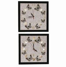 Horloges murales blanc contemporain pour la cuisine