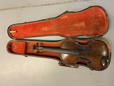Vintage / Antique 1913 Dated Violin with Case - Repaired in 2010