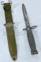 US M7 Bayonet BOC N.O.S USM8A1/USM8 Scabbard Complete Vietnam War NEW
