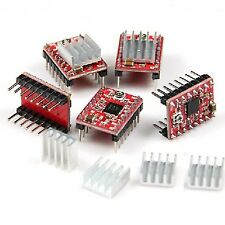 5PCS Mini disipador térmico disipador 9x9x5mm Para Impresora Controlador de motor paso a paso NUEVO