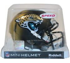 JACKSONVILLE JAGUARS RIDDELL NFL MINI SPEED FOOTBALL HELMET