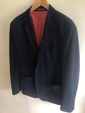 Feraud Dark Blue Two Button Blazer Size 44
