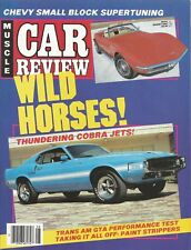 MUSCLE CAR REVIEW 1987 AUG - GTA, AMX/3, CJ SPECIAL
