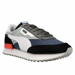 Puma Future Rider Play On Lace Up  Mens  Sneakers Shoes    - Black