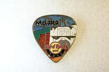 MELAKA,Hard Rock Cafe Pin,Post Card Guitar Pick