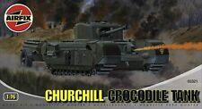 Maqueta tanque Churchill Crocodile marca Airfix escala 1:76 NUEVO A ESTRENAR
