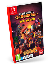 Minecraft Dungeons Hero Edition Switch Pal España Nuevo Precintado FISICO
