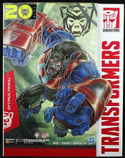Optimus Primal Transformers Year of the Monkey Platinum Edition Authentic