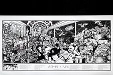 SCI-FI MOVIE CAFÉ - HOWARD TEMAN POSTER (48x90cm)  NEW LICENSED ART