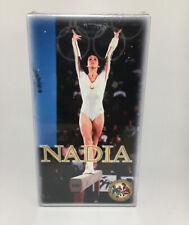 NEW Nadia (VHS, 1984) Nadia Comaneci, Gymnastics,Best Gymnast In The World.NEW