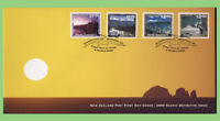 New Zealand 2000 four Scenic definitives on First Day Cover