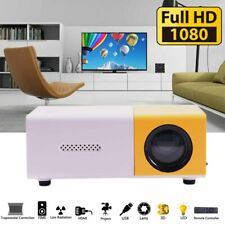 Mini Portable Multimedia LED YG300 Projector HD 1080P Home Theater Cinema Good