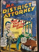 MR. DISTRICT ATTORNEY. NO. 56. SILVER AGE DC NATIONAL COMICS. SCARCE. PURCELL