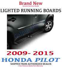 Genuine OEM Honda Pilot Running Board Set with Lights 2009-2015 (08L33-SZA-100C)